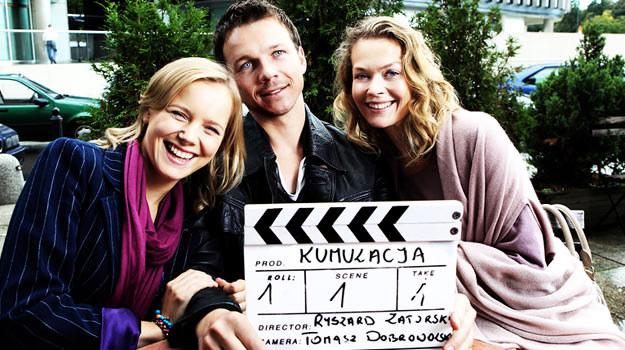 Justyna Schnedier, Lesław Żurek i Tamara Arciuch - fot. Robert Pałka / FotosArt /materiały prasowe