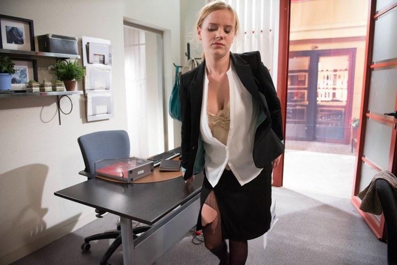 """Justyna Schneider w """"Na Wspólnej"""" /Agencja W. Impact"""