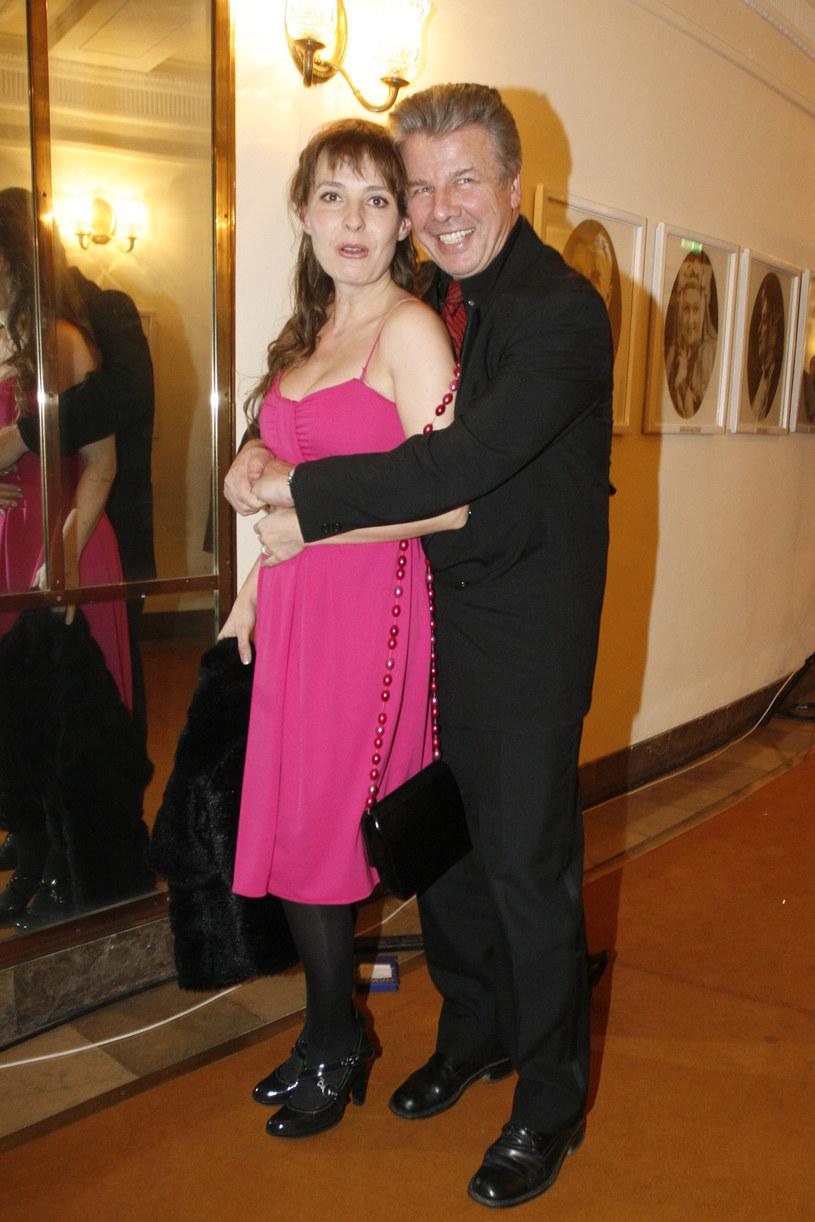 Justyna Sieńczyłło i Emilian Kamiński, 2008 rok /Wojtalewicz Jarosław /AKPA