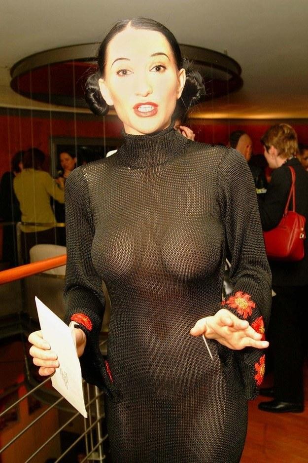 Justyna Steczkowska - 2002 r. /AKPA