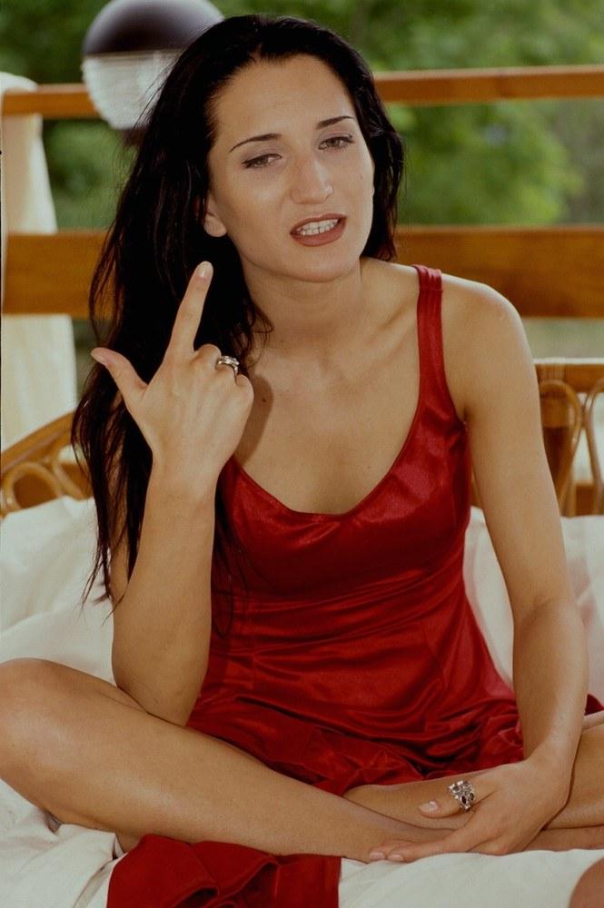 Justyna Steczkowska - 2003 r. /Darek Majewski /Reporter