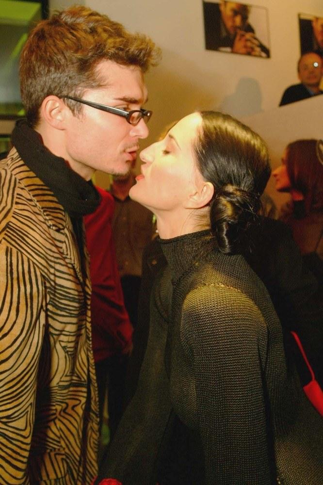 Justyna Steczkowska i Maciej Myszkowski na promocji perfum /Prończyk /AKPA