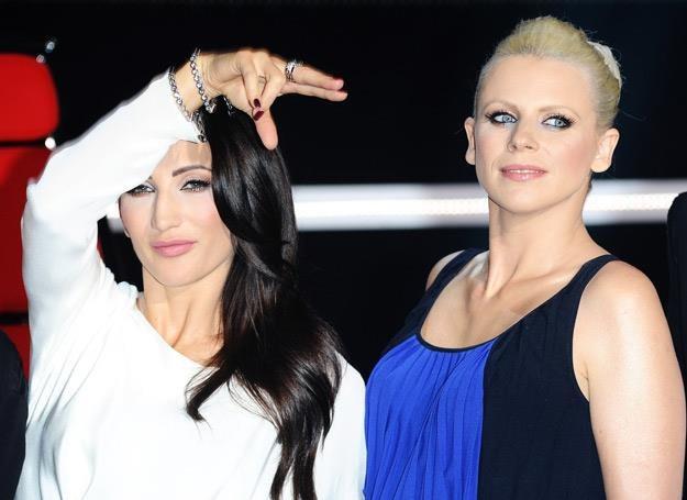 Justyna Steczkowska i Maria Sadowska stanęły w ringu - fot. Piotr Andrzejczak /MWMedia