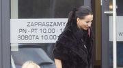 Justyna Steczkowska w futrze i z gołymi nogami! Tak odbierała córkę Helenkę z przedszkola!