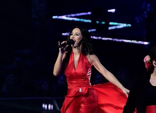 Justyna Steczkowska wykonała utwór ze swojej nowej płyty - fot. Adam Jankowski /Reporter