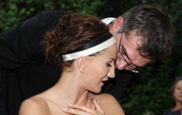 Justyna Steczkowska z mężem /fot.Krzysztof Jarosz  /Agencja FORUM