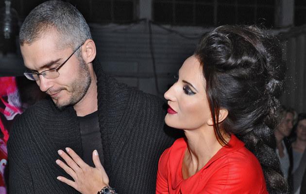 Justyna Steczkowska z mężem Maciejem Myszkowskim /Andras Szilagyi /MWMedia