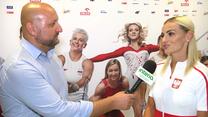 Justyna Święty-Ersetic dla Interii: Fajnie, że udało się z tego wykaraskać. Wideo