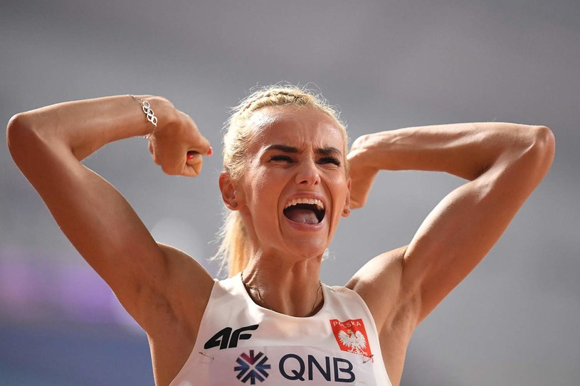 Justyna Święty-Ersetic and her friends won again / AFP