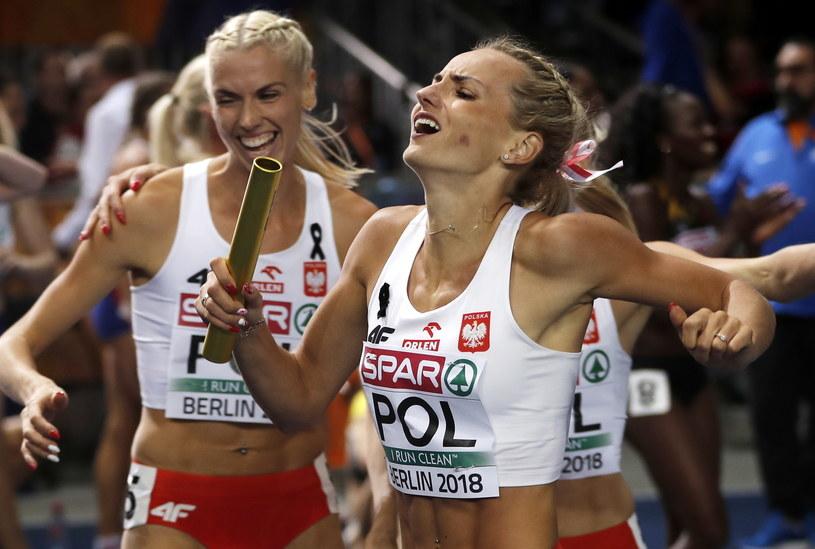 Justyna Święty-Ersetic zdobyła w sobotę dwa złote medale ME /PAP/EPA