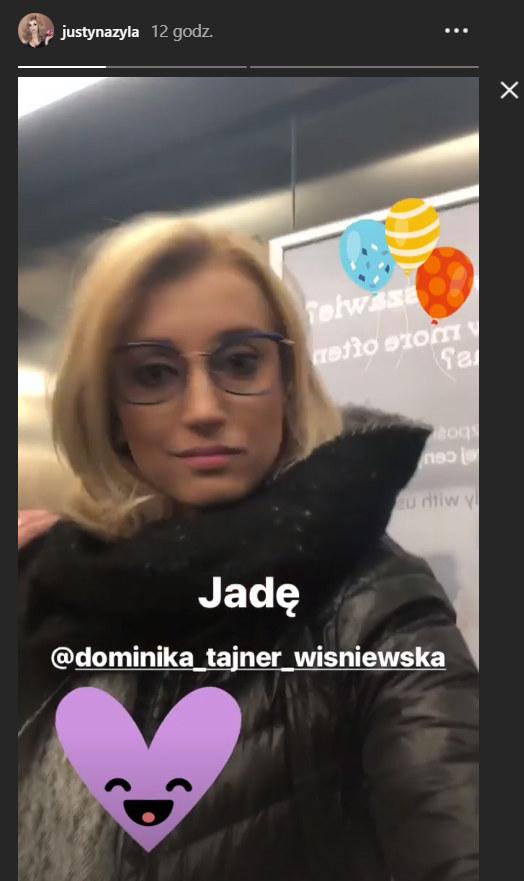 Justyna wybrała się na sushi z Dominką /Instagram