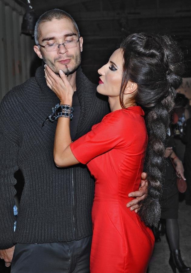 Justyna z mężem Maciejem, fot.Andras Szilagyi  /MWMedia