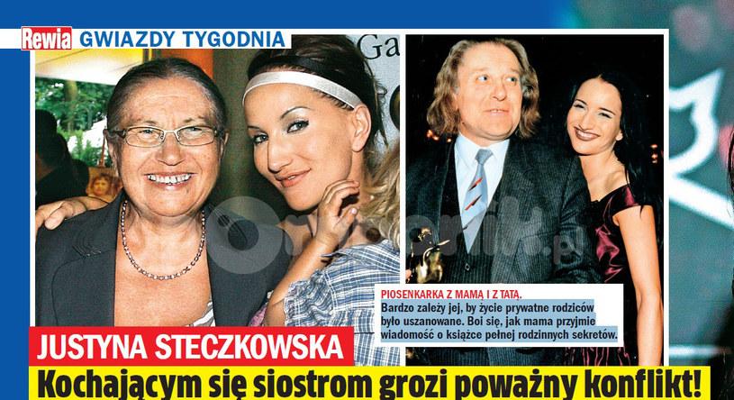 Justyna z rodzicami /- /Rewia