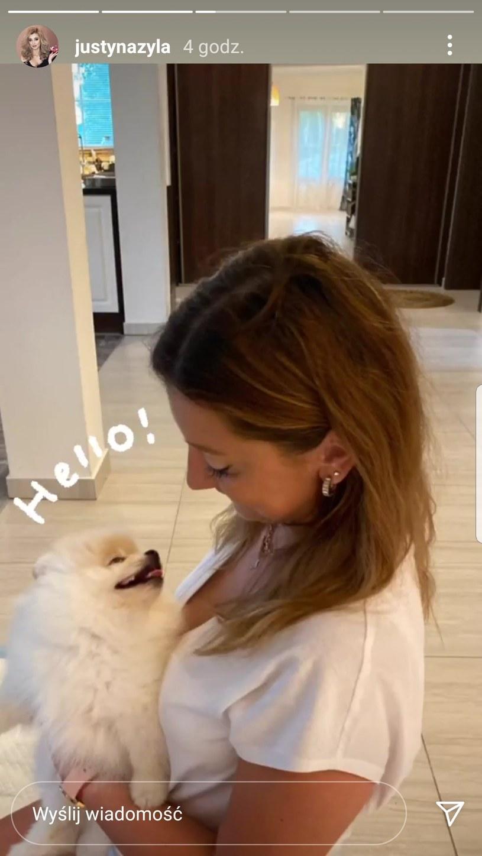 Justyna Żyła ma nowego psa. To rozjuszyło nową dziewczynę jej byłego męża   /https://www.instagram.com/justynazyla/ /Instagram