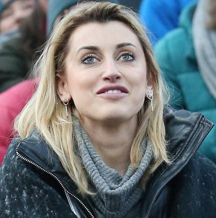 Justyna Żyła pod skocznią w Wiśle /Damian Klamka /East News