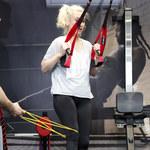 Justyna Żyła trenuje pod okiem trenera