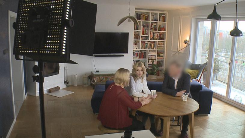"""Justyna Żyła w programie  """"Justyna Żyła. Pierzemy brudy do czysta!"""" /materiały prasowe"""