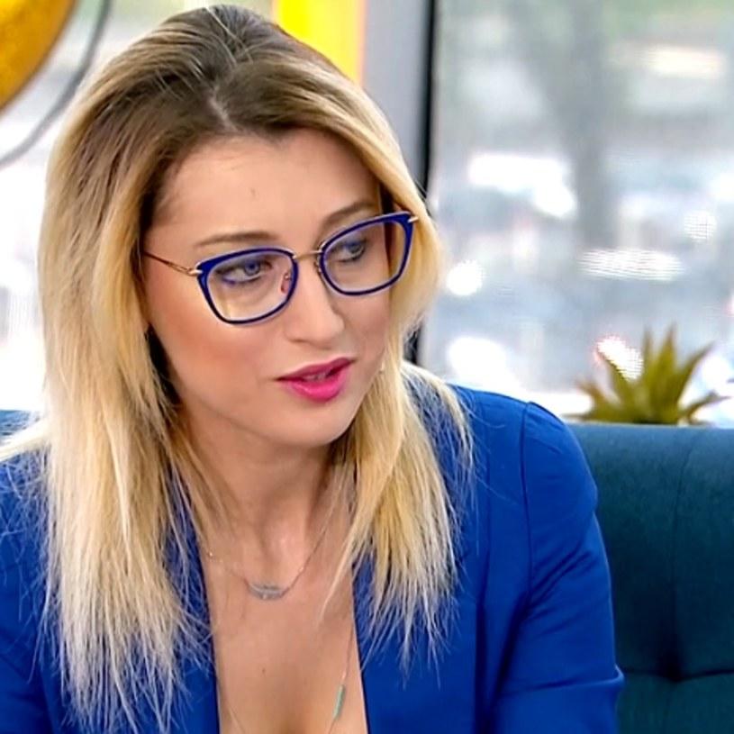 """Justyna Żyła w """"Pytaniu na śniadanie"""" /TVP / Pytanie na śniadanie /materiał zewnętrzny"""
