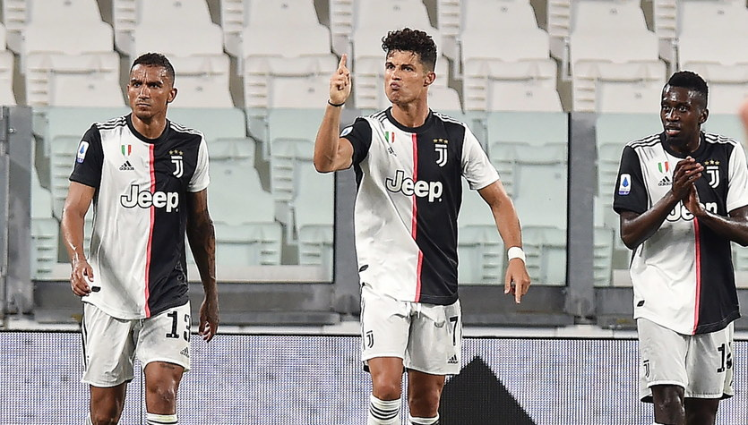 Juventus - Atalanta Bergamo 2-2 w 32. kolejce Serie A