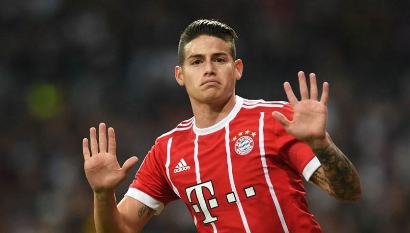 Juventus chce ściągnąć Jamesa z Bayernu Monachium
