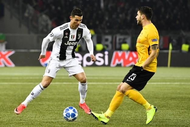 Juventus jest jedną z drużyn, którą zobaczymy na wiosnę w kolejnej fazie LM /ANTHONY ANEX /PAP/EPA