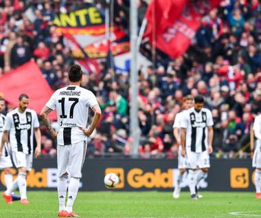 Juventus przegrywa bez Ronaldo i Szczęsnego