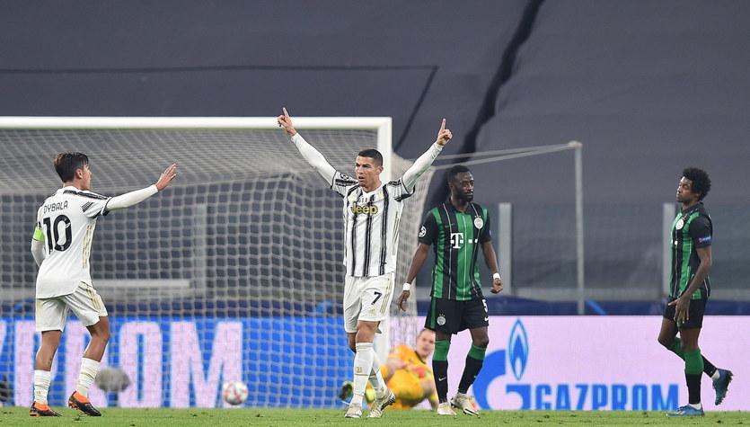 Juventus Turyn - Ferencvaros 2-1 w meczu 4. kolejki fazy grupowej Ligi Mistrzów