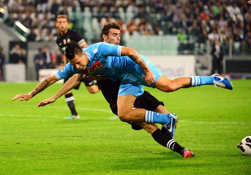 Juventus wygrał z Napoli 2-0 /AFP