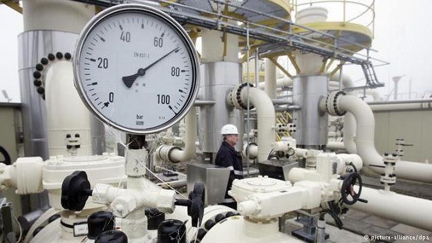 Już 1/4 niemieckich zbiorników gazu jest w rękach rosyjskich firm i oligarchów /Deutsche Welle