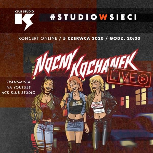 Już dziś o 20:00 odbędzie się koncert zespołu Nocny Kochanek /materiały prasowe