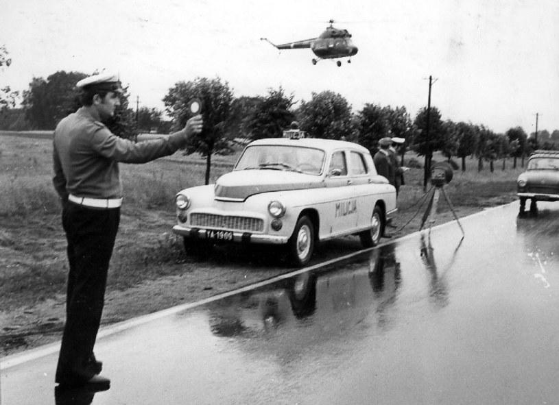 Już niedługo po II wojnie światowej policja dysponowała radarami /Policja