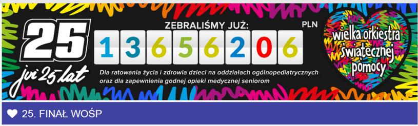 Już ponad 13 mln zł /