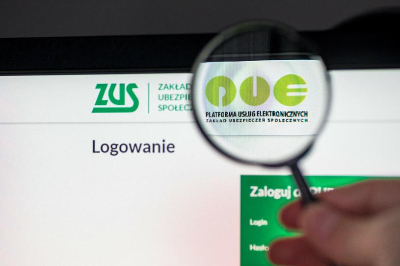 Już ponad 6 mln użytkowników ma elektroniczne konto na PUE ZUS /Arkadiusz Ziółek /East News
