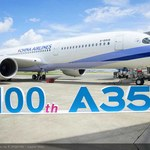 Już sto samolotów Airbus A350 XWB