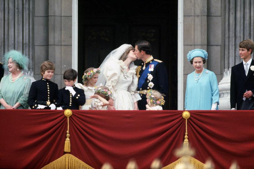Już w dniu ślubu księżna Diana wiedziała, że księże Karol ją zdradza /Getty Images