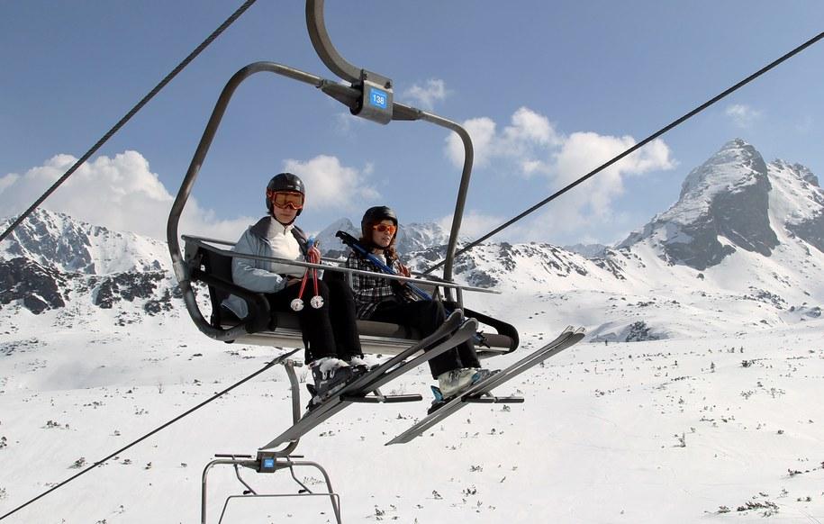 Już w sobotę pierwsi narciarze zjadą z Kasprowego Wierchu /Grzegorz Momot /PAP