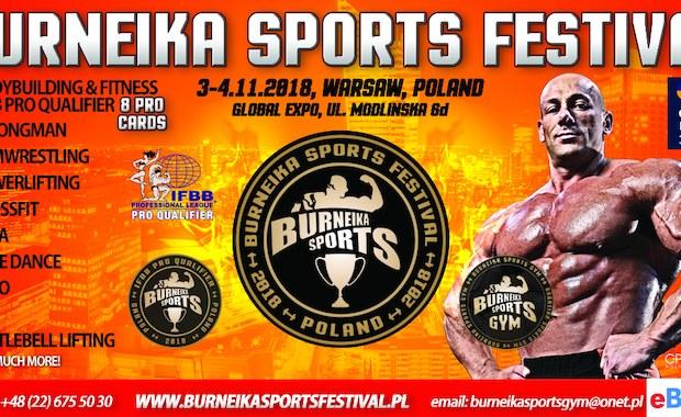 Już wkrótce! Burneika Sports Festival