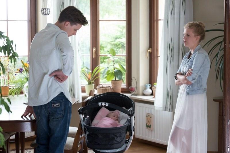 Już wkrótce o Natalce przypomni sobie ojciec jej dziecka - Darek /Agencja W. Impact