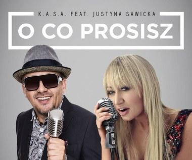 """K.A.S.A. i Justyna Sawicka w duecie (""""O co prosisz"""")"""