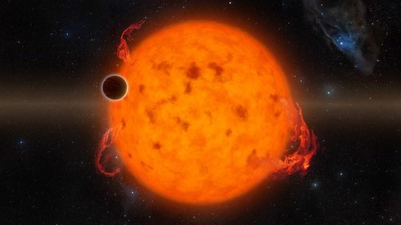 K2-33b to najmłodsza egzoplaneta, jaką kiedykolwiek namierzono /materiały prasowe