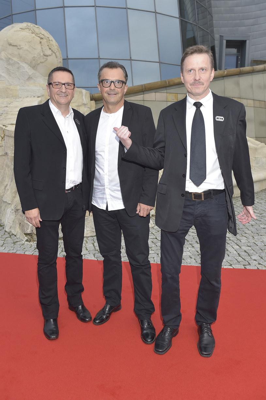 Kabaret OT.TO, czyli Andrzej Tomanek, Andrzej Piekarczyk oraz Wiesław Tupaczewski (2016) /AKPA
