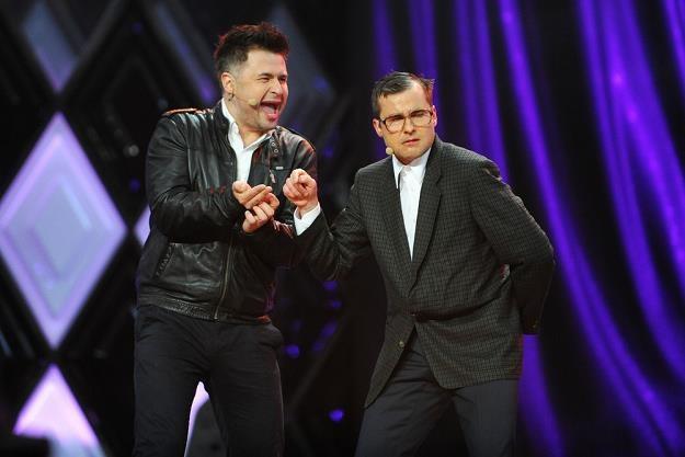 Kabaret Paranienormalni - nz. Igor Kwiatkowski i Michał Paszczyk. Fot. Piotr  Matusewicz /Agencja SE/East News