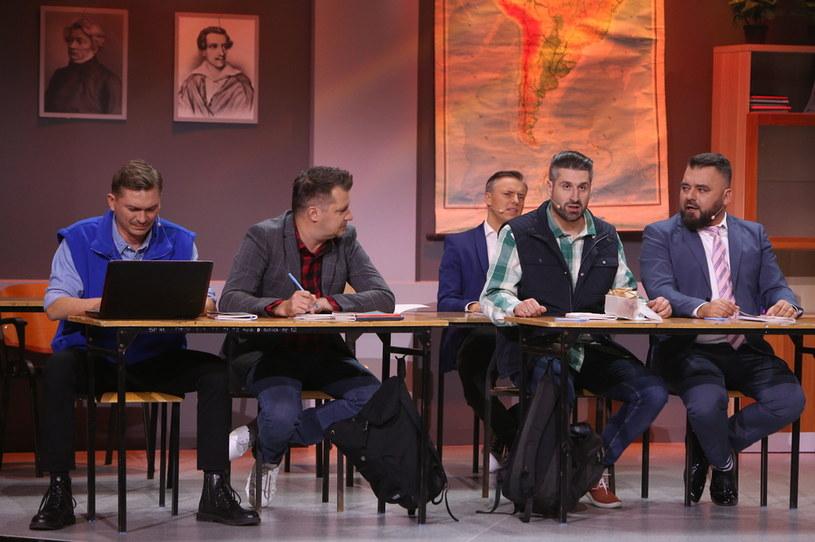 """Kabarety połączą siły w skeczu """"Szkoła wieczorowa"""" /Polsat"""