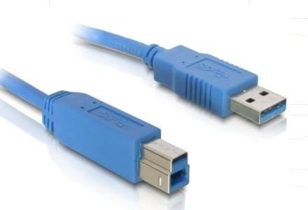 Kabel USB 3.0 SUPER SPEED A-B /materiały prasowe