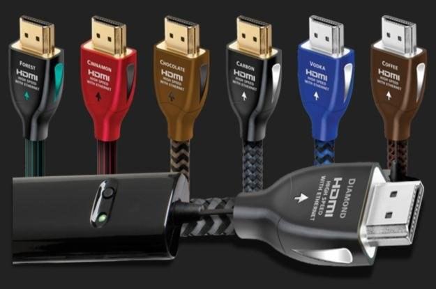 """Kable Audio Quest - jeden z nich ma ciekawą nazwę """"VODKA HDMI /materiały prasowe"""