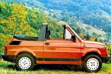 """Kabrio wytwarzano do 1995 roku / Kliknij /tygodnik """"Motor"""""""