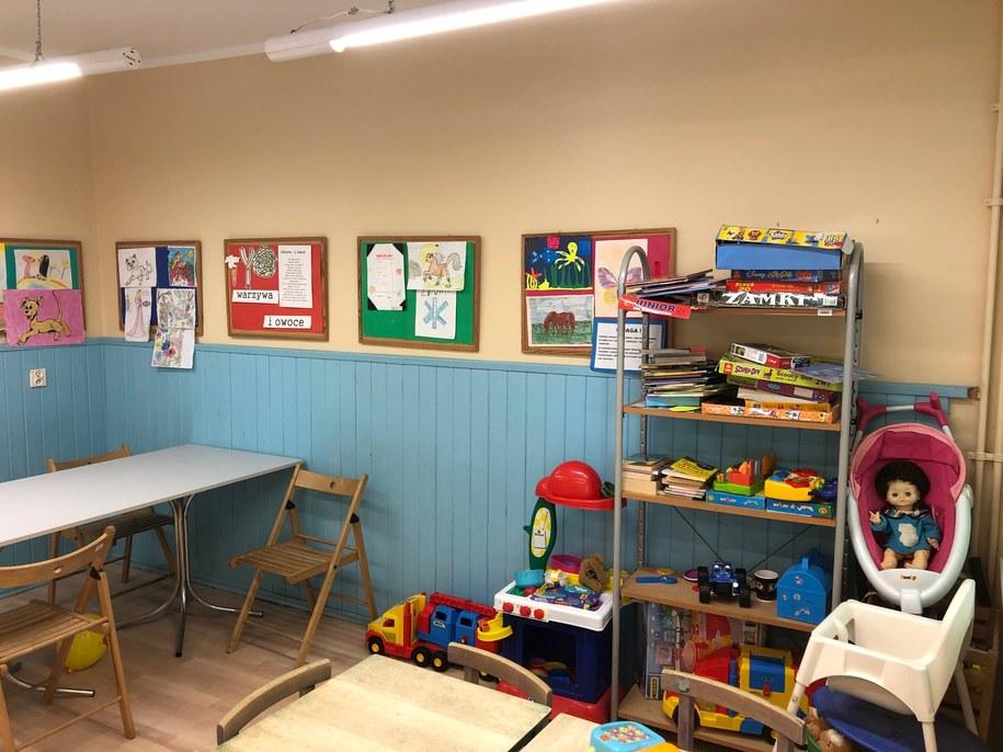 Kącik dla dzieci w gdańskim szpitalu /Kuba Kaługa /RMF FM