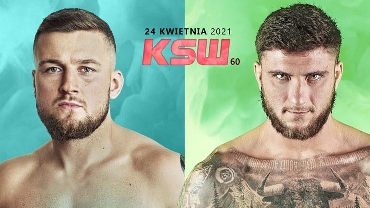 Kacper Koziorzębski vs Ion Surdu na KSW 60 /KSW /Informacja prasowa