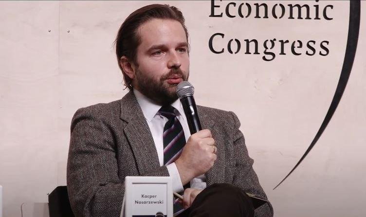 Kacper Nosarzewski, futurolog, członek zarządu Polskiego Towarzystwa Studiów nad Przyszłością i parter firmy 4CF. /INTERIA.PL