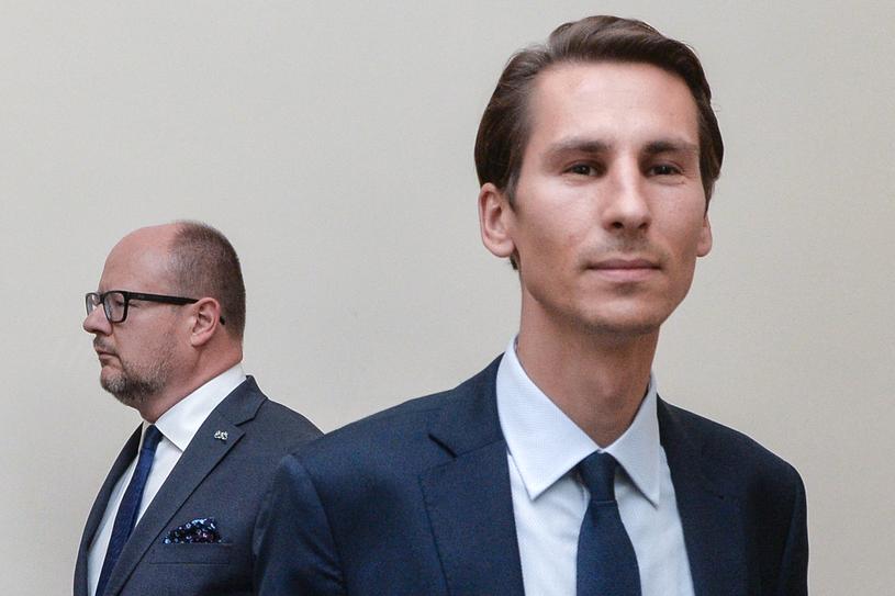 Kacper Płażyński /Lukasz Dejnarowicz /Agencja FORUM